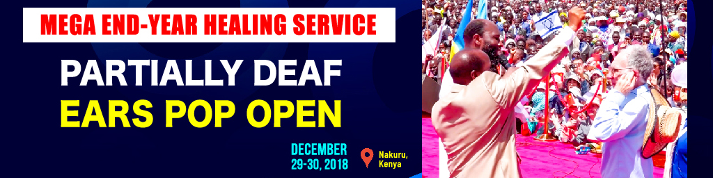 Dec 29-30, 2018 Healings Guest Deaf Ears
